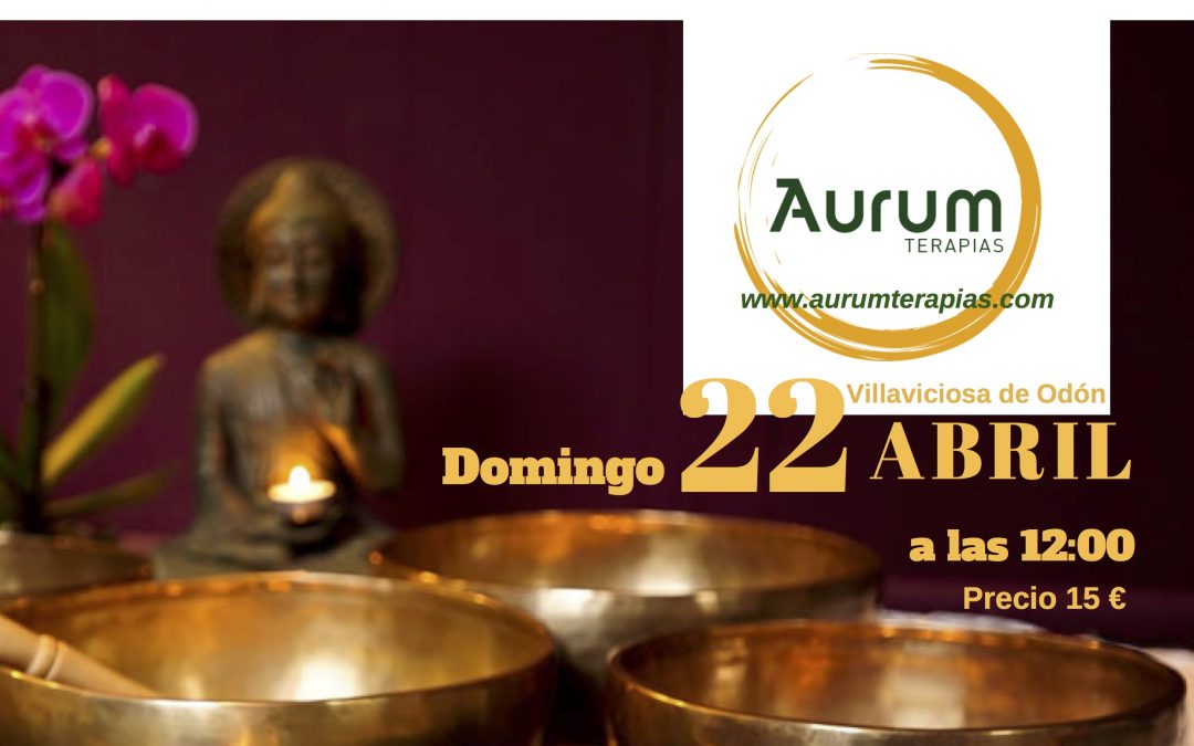 CONCIERTO – MEDITACIÓN CUENCOS TIBETANOS, Domingo, 22de Abril 12,00 h.